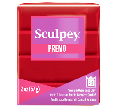 Premo Sculpey®Cayenne 2 oz bar PE02 5054  NEW PRODUCT - Creative Wholesale