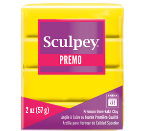 Premo Sculpey® Zinc Yellow Hue, 2 oz bar, PE02 5072 - Creative Wholesale