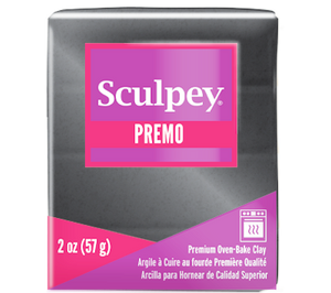 Premo Sculpey® Accents Graphite Pearl, 2 oz bar, PE02 5120 - Creative Wholesale