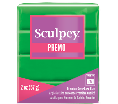 Premo Sculpey® Green, 2 oz bar, PE02 5323 - Creative Wholesale