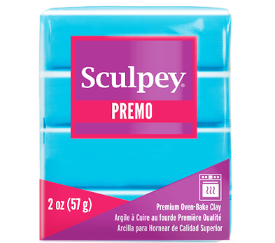 Premo Sculpey® Turquoise, 2 oz bar, PE02 5505 - Creative Wholesale
