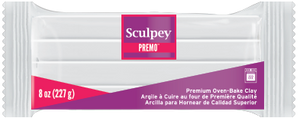 Premo Sculpey® White, 8 ounce blocks, PE08 5001 - Creative Wholesale