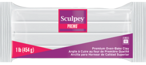 Premo Sculpey® Clay White 1 Pound Bar PE1 5001 - Creative Wholesale