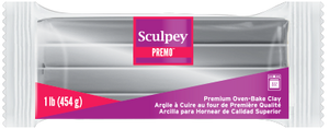 Premo Sculpey® Clay Silver 1 Pound Bar PE 5129 - Creative Wholesale