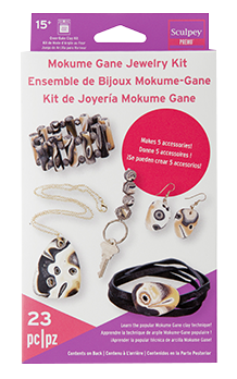 Sculpey Premo Mokume Gane Jewelry Kit  PE 4052
