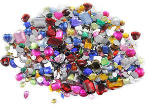 Rhinestones Assorted Sizes and Colors X100SV CLOSEOUT