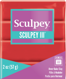 Sculpey III Polymer Clay Poppy 2 oz S302 1137 New Color - Creative Wholesale