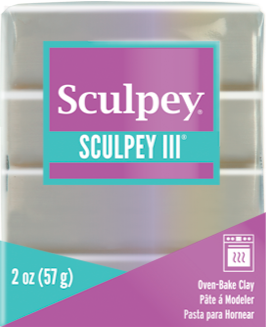 Sculpey III Polymer Clay,  Princess Pearl, 2 oz.  S302 530 - Creative Wholesale