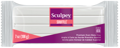 Sculpey Souffle Color Igloo 7 oz,  SU08 6001 (NEW SIZE)