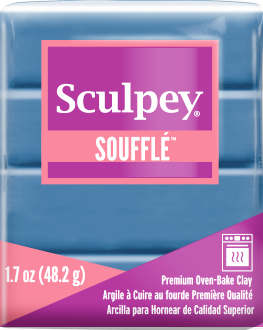Sculpey Souffle Cornflower 1.7 ounce SU 6005 New Color - Creative Wholesale