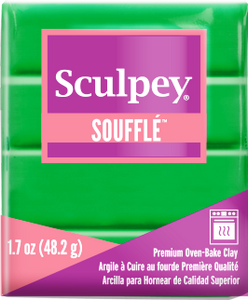 Sculpey Souffle Shamrock 1.7 ounce SU 6007 New Color - Creative Wholesale