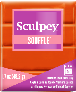 Sculpey Souffle Pumpkin, 1.7 ounce SU 6033 - Creative Wholesale