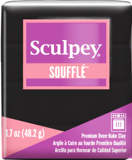 Sculpey Souffle, Color PoppySeed, 1.7 ounce SU 6042 - Creative Wholesale