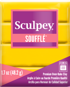 Sculpey Souffle Canary, 1.7 ounce SU 6072 - Creative Wholesale