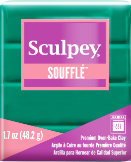 Sculpey Souffle Jade, 1.7 ounce SU 6323 - Creative Wholesale