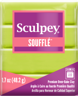 Sculpey Souffle Pistachio, 1.7 ounce SU 6629 - Creative Wholesale
