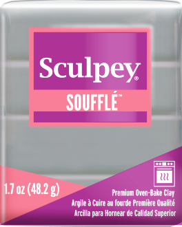 Sculpey Souffle Concrete, 1.7 ounce SU 6645 - Creative Wholesale