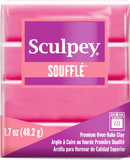 Sculpey Souffle Guava, 1.7 ounce SU 6653 - Creative Wholesale