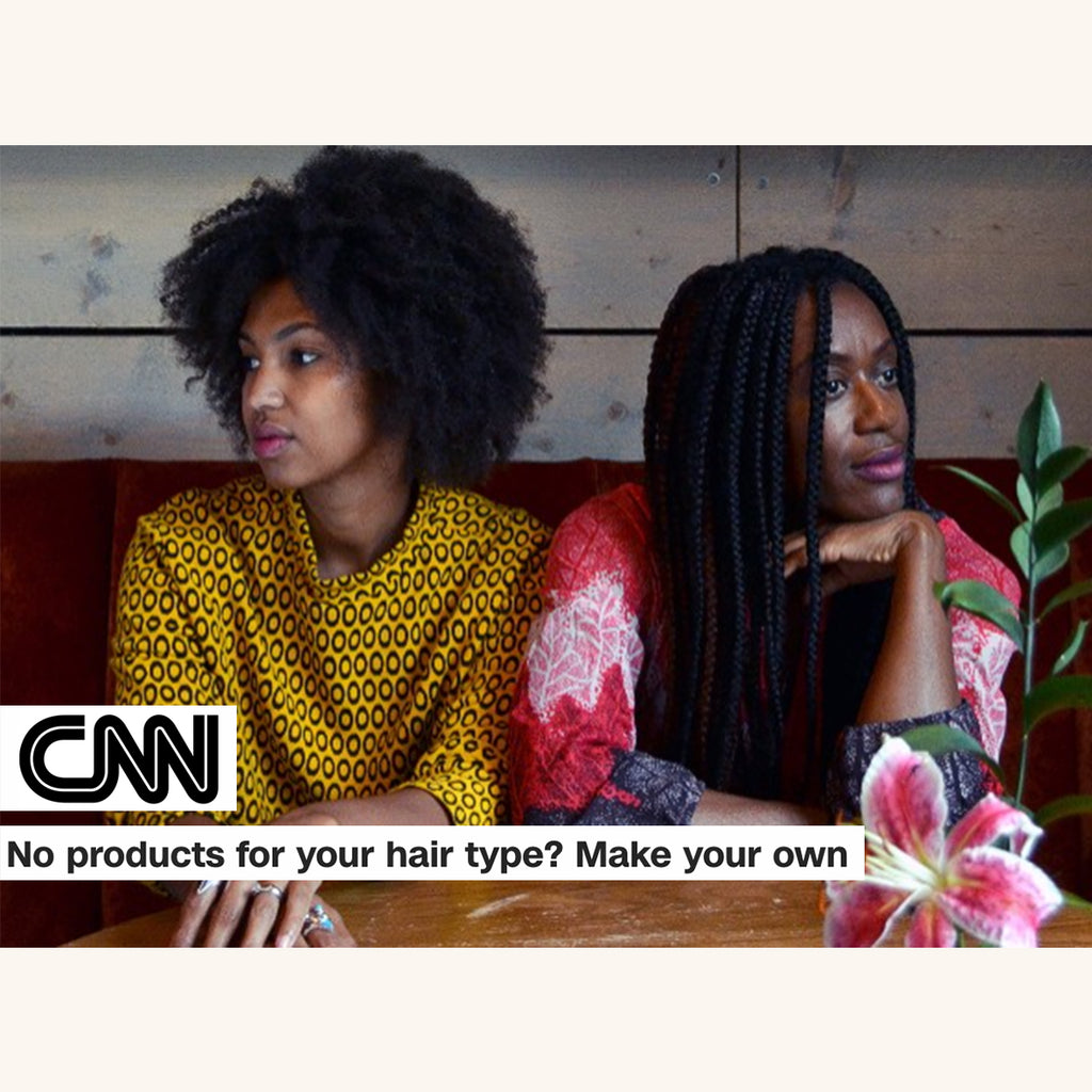 CNN: No Products for yoru hair type? Make Your Own