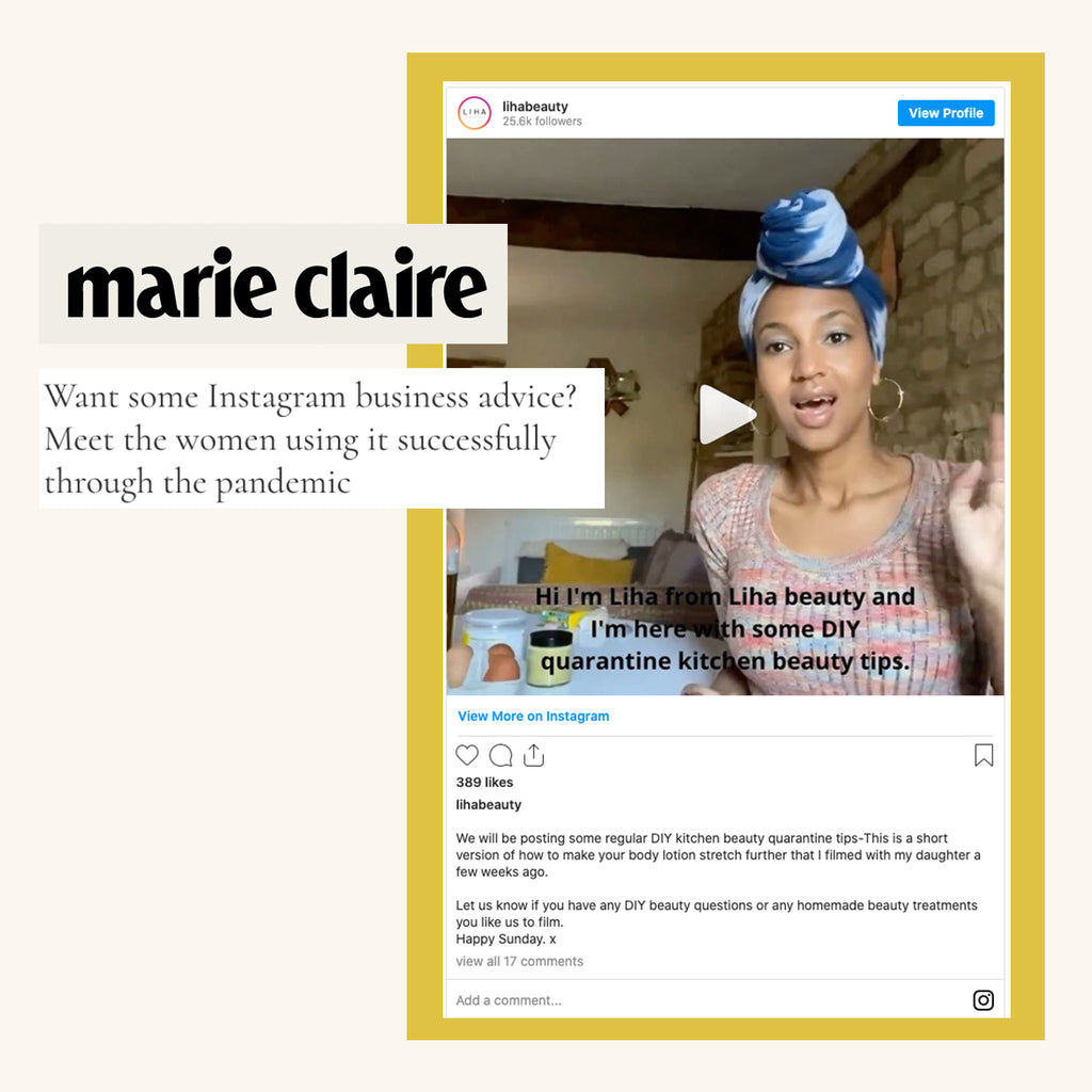 MARIE CLAIRE: Want some Instagram business advice?