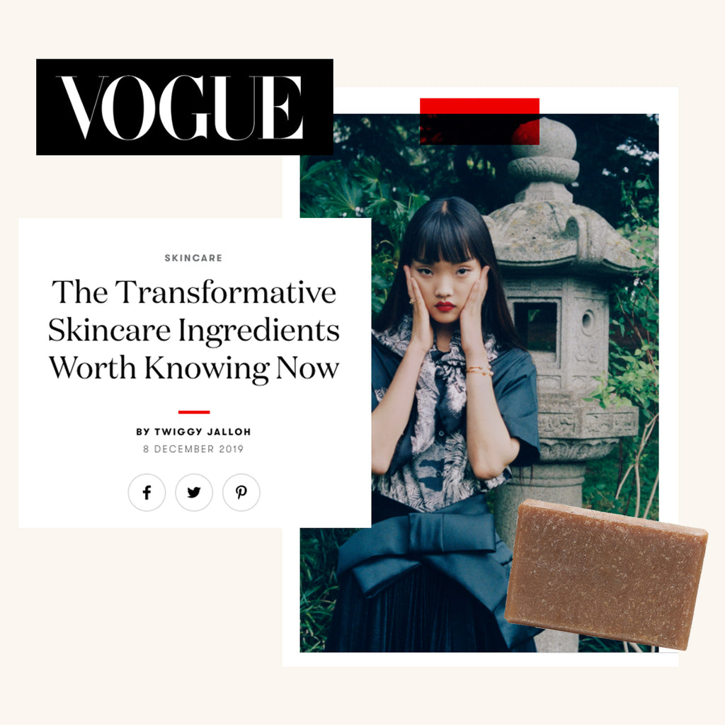 VOGUE: The Transformative Skincare Ingredients Worth Knowing Now