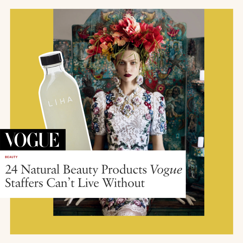 VOGUE: 24 Natural Beauty Product Vogue Staffers Can't Live Without