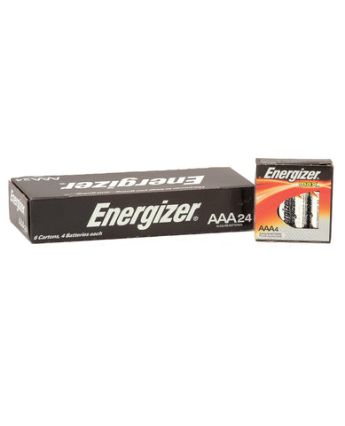 Energizer Battery Alkaline Max Power - AAA Box of 24