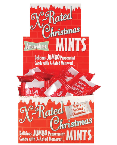 Amusemints X-Rated Christmas Mints - Display of 100