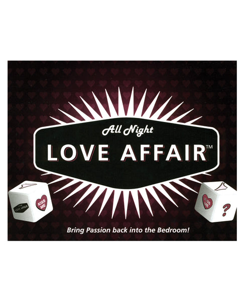 All Night Love Affair Game, Games for Romance & Couples,- www.gspotzone.com