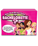 How Well Do You Know The Bachelorette/Bride? Game