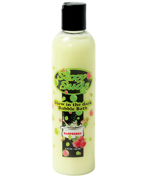 Sexy Suds Glow in the Dark Bubble Bath - 8 oz Raspberry
