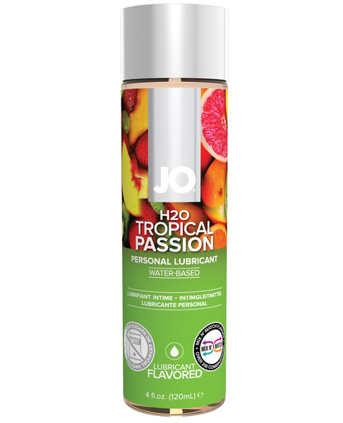 System JO H2O Flavored Lubricant - 4 fl oz Tropical Passion