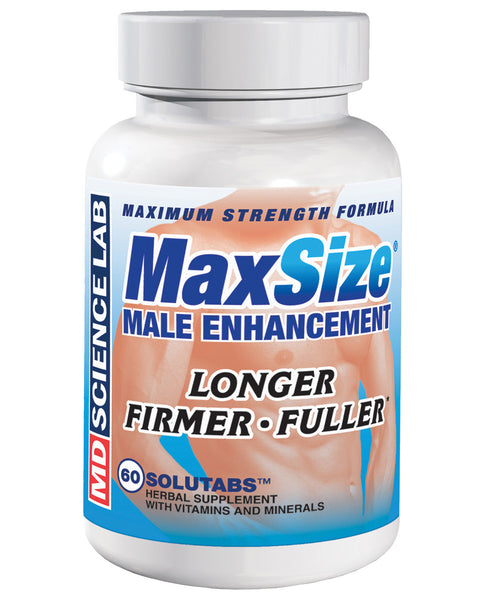 Max Size - 1 Capsule Bottle of 60