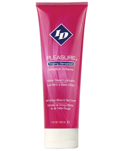 ID Pleasure Waterbased Tingling Lubricant - 4 oz Tube