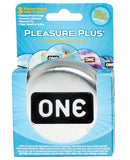 ONE Pleasure Plus Condoms - Box of 3