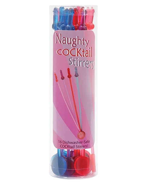 Naughty Cocktail Stirrers - Set of 16