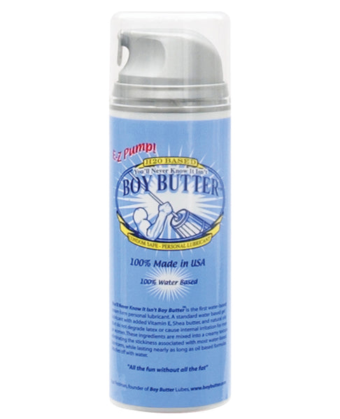 Boy Butter Ez Pump H2O Based - 5 oz