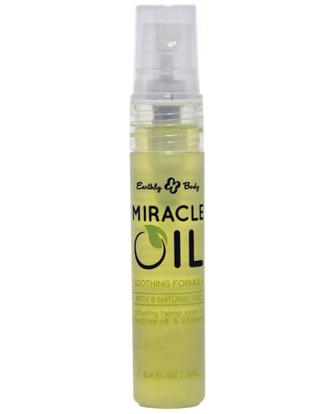 Earthly Body Miracle Oil Mini Spray - .4oz