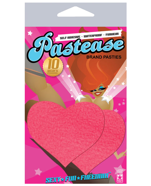 Pastease Neon Pink Heart O/S