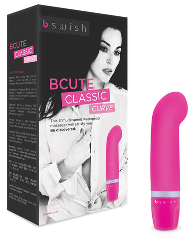 BCute Curve Massager - Rose