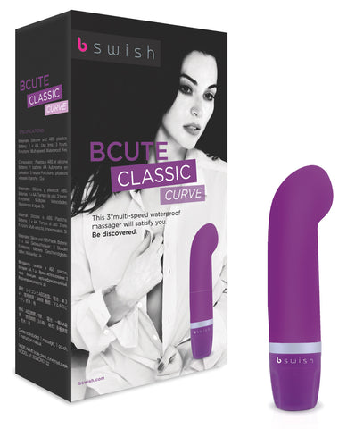 BCute Curve Massager - Purple