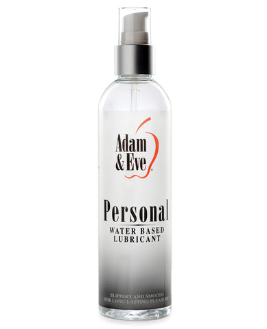 Adam & Eve Personal Water Based Lube - 8oz, Lubricants,- www.gspotzone.com