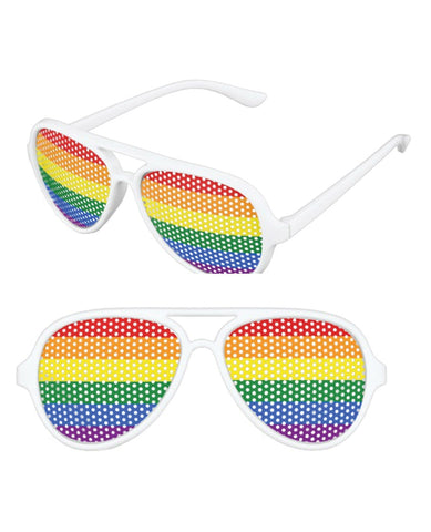 Pinhole Glasses - Rainbow