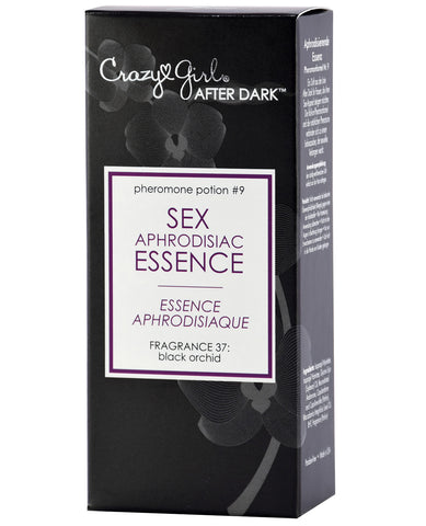 Crazy Girl After Dark Sex Aphrodisiac Essence w/ Pheromones - .5 ml Black Orchid