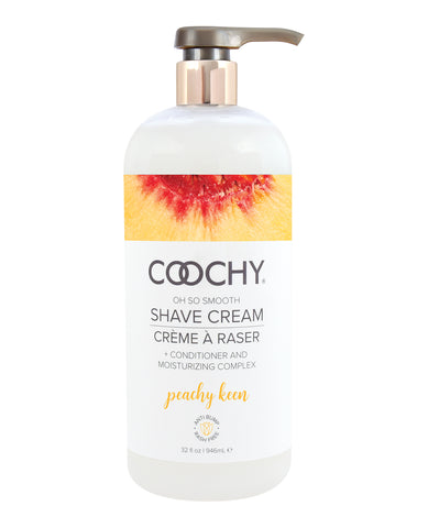 COOCHY Shave Cream - 32 oz Peachy Keen