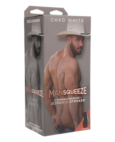 Main Squeeze ULTRASKYN Ass Stroker - Chad White