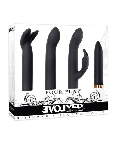 Evolved Four Play Kit - Black/Rose Gold