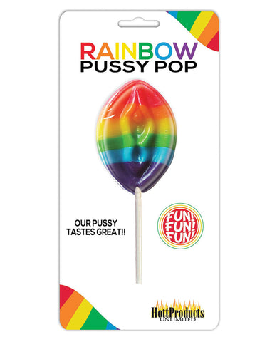 Rainbow Pussy Pops Carded