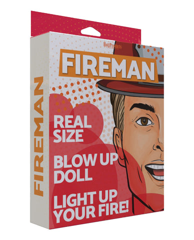 Inflatable Party Doll - Fireman