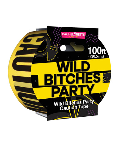 Wild Bitches Caution Party Tape